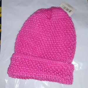 New Soft pink Knit  Hat